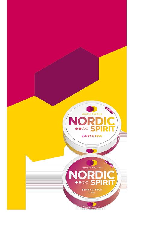 Nordic Spirit berry citrus range